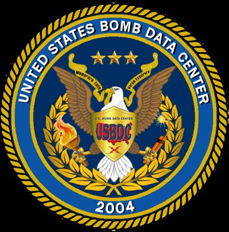 U.S. Bomb Data Center seal