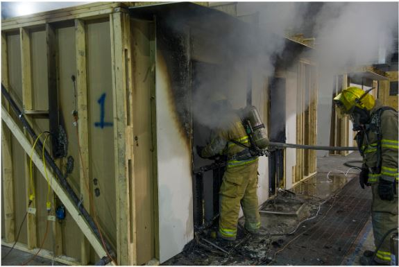 ATF Certified Fire Investigators battle toxic fumes in candidate class