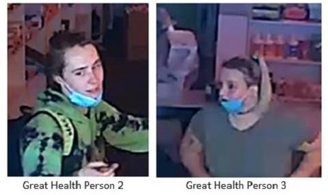 Great Health arson suspects