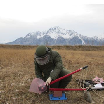 An ATF certified explosives specialist responds to an incident in alaska