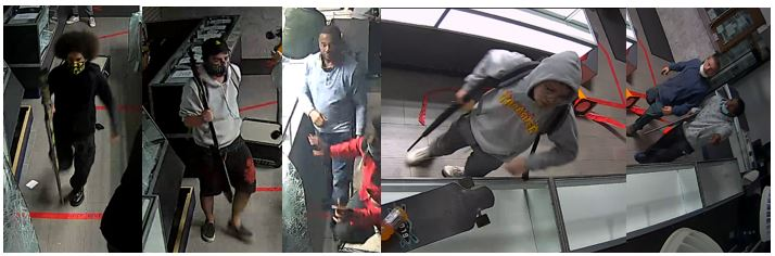 Buffalo Pawn Shop Burglary Suspects