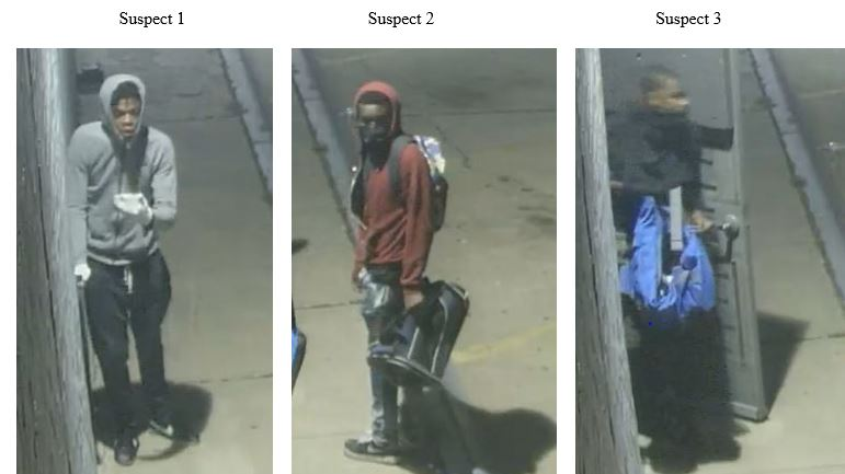 suspects, firearms, robbery, video stills, DFW