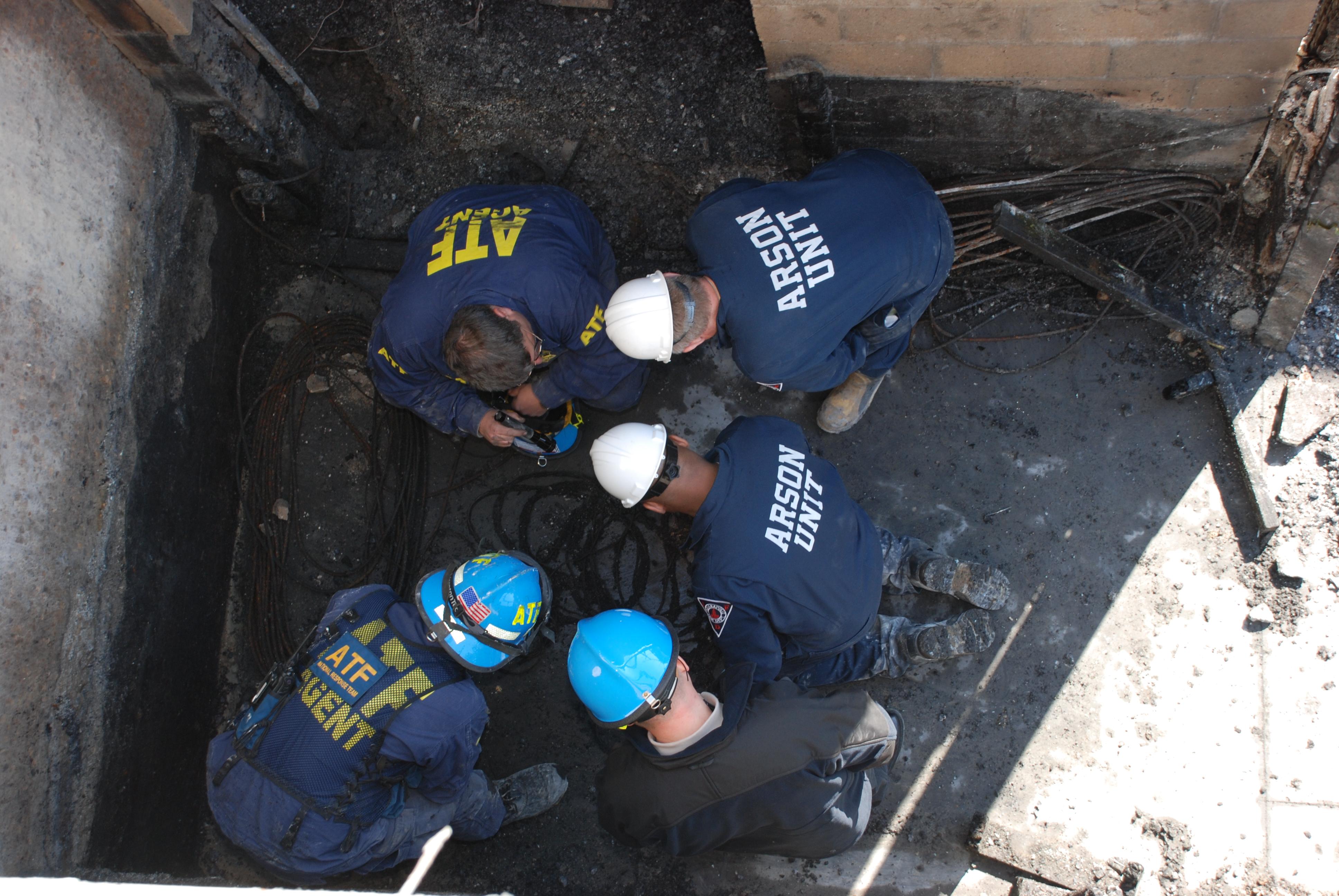 ATF National Response Teams help support a criminal investigation