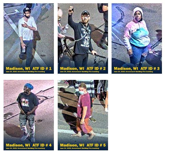 Madison Firebombing Suspects