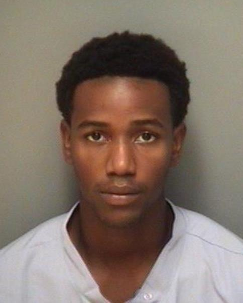 Booking photo of Dominique Dejone Thurston courtesy of Albemarle County Police Department
