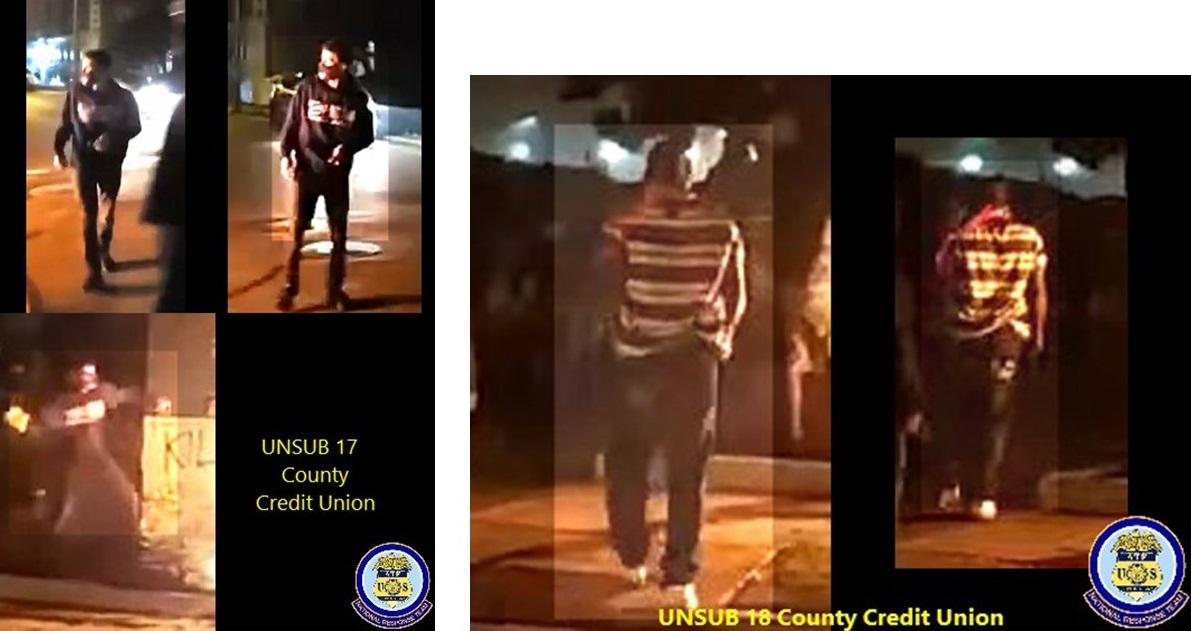 County Credit Union arson suspects