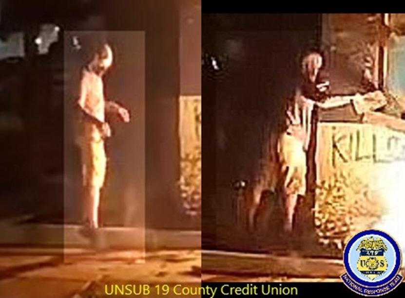 County Credit Union Arson suspect #2