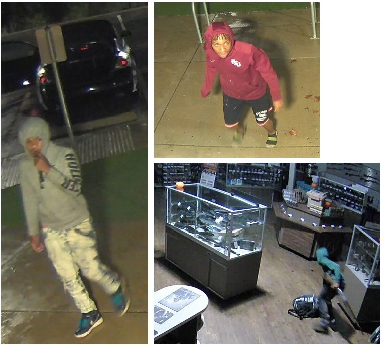 Mission Ridge Range and Academy robbery suspects
