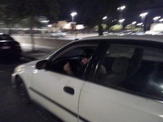 Arson suspect in late model white sedan with what is believed to be black molding on the side.