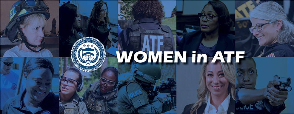 Images of women ATF agents