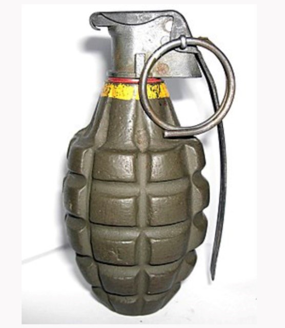 example of a grenade