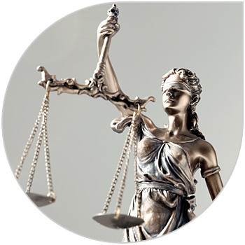 Lady Justice used to represent Regulations