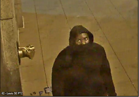 Suspect #5 is a male in a black outfit.