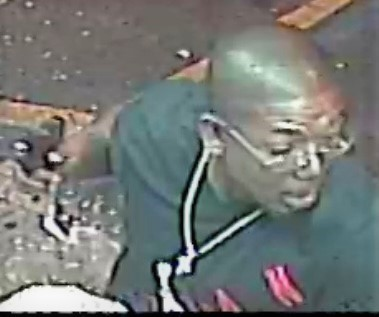 Close-up of suspect in Tony's Market shooting