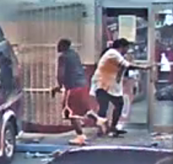 Two suspects during the Tony's Market shooting