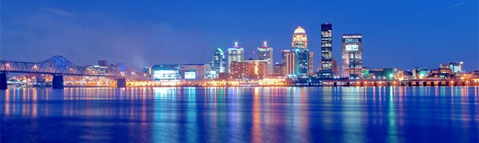 Image of Louisville Kentucky's skyline