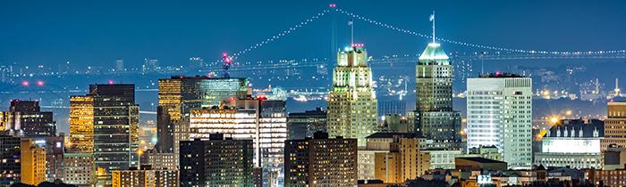 Skyline of Newark, New Jersey