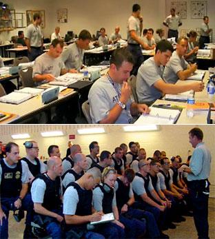 Special Agent academics training.