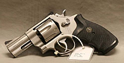 Image of a smooth bore shot revolver