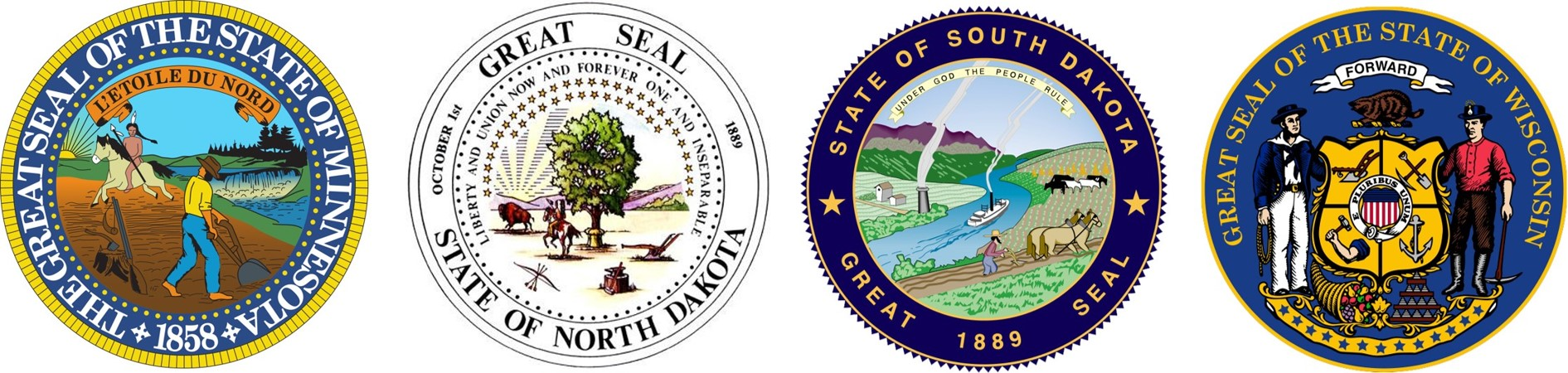 St. Paul Field Division State Seals