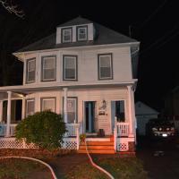 Damaged house at 115 Washington Ave, Suffern, NY