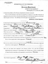 Personnel Document of Charles Howell