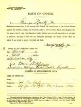 Image of George Nantz Jr certificate of death