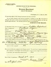 Personnel Document of Grover Todd