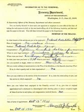 Personnel Document of Howell Lynch