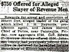 Newspaper article regarding John Reynolds