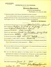 Personnel Document of John Reynolds