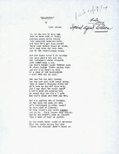 Image of poem titled Brainstorm, by Paul Miller