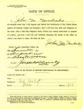 Oath of Office for John Mulcahy