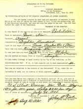 Personnel Document of  John O Toole
