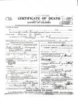 Image of Lamar W. York's certificate of death