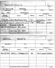 Image of Thomas B Lankford oath of office document
