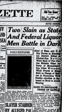 Newspaper article regarding William Porter