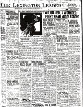 Newspaper article regarding Willie Saylor