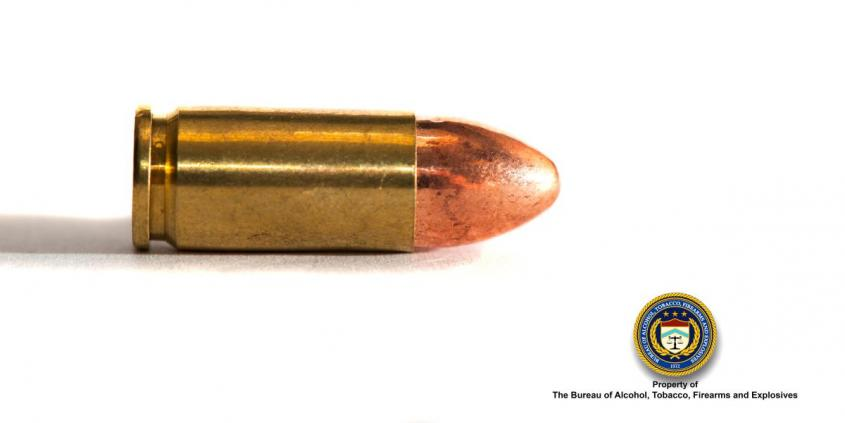 Picture of 9mm Bullet