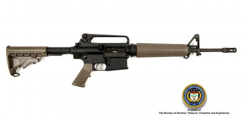Picture of Armalite AR10: Make: Armalite Model: AR-10 Caliber: 7.62mm