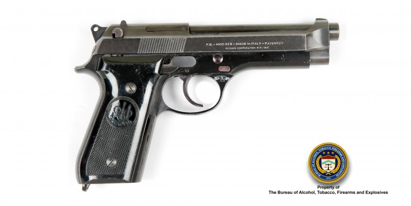 Picture of Beretta Make: Beretta Model: 92S Caliber: 9mm