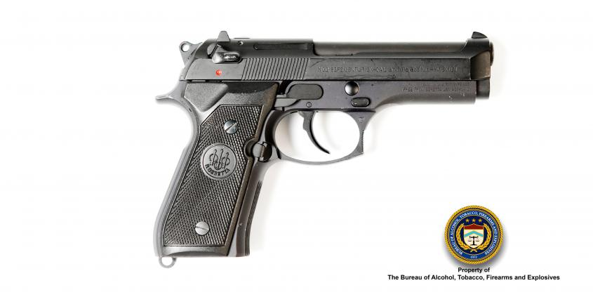 Picture of Beretta Make: Beretta Model: 92FS Caliber: 9mm