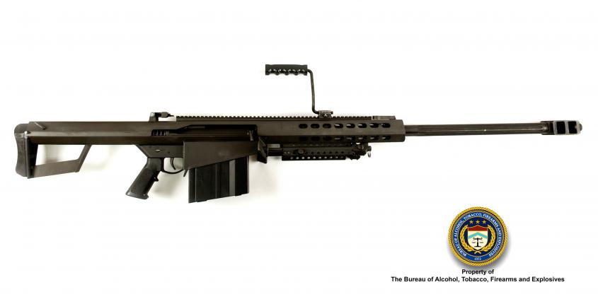 Picture of Barrett M82: Make: Barrett Model: M82 Caliber: .50 BMG