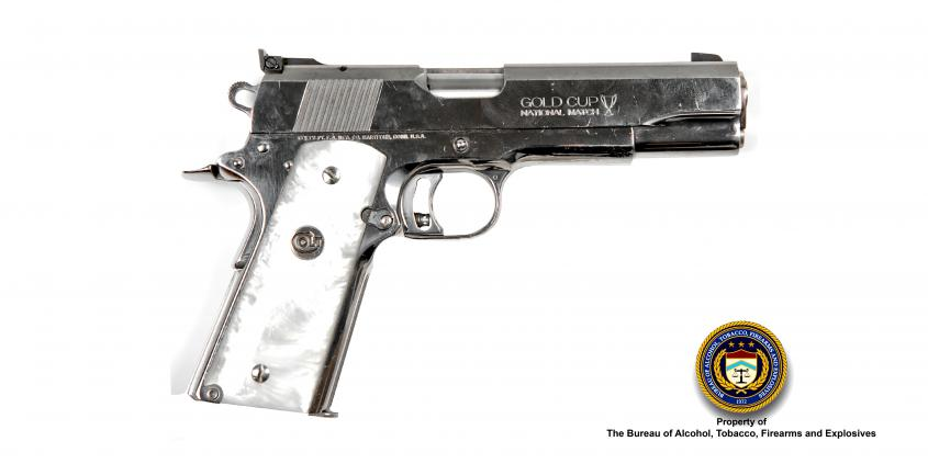 Picture of Colt Gold Cup Make: Colt Model: Gold Cup Caliber: .38 Super