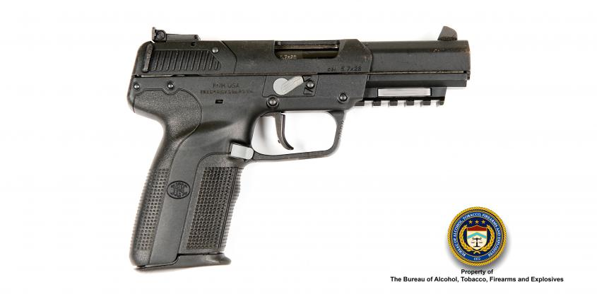 Picture of Fabrique Herstal Make: Fabrique Nationale Herstal Model: Five Seven Caliber: 5.7x28mm