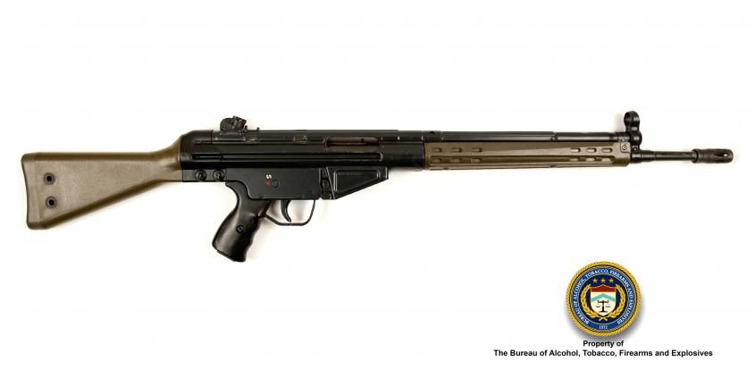 Picture of H&K HK91: Make: Heckler and Koch Model: HK91 Caliber: 7.62x51mm