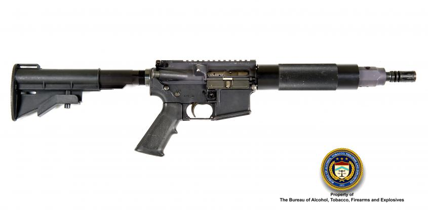 Picture of Rock River Arms LAR-15: Make: Rock River Arms Model: LAR-15 5.56mm Caliber: 5.56mm