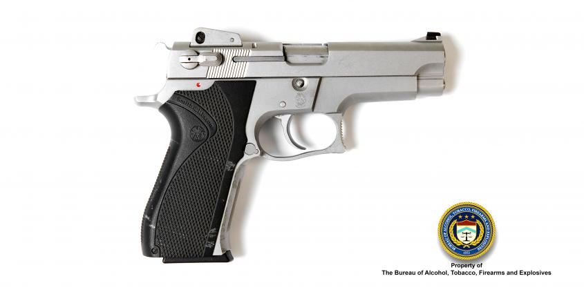 Picture of Smith and Wesson Model 5906 9mm Para Pistol