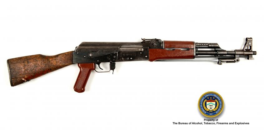 Picture of Type 56 (Iraq): Make: Model: Type 56 Caliber: 7.62x39mm