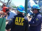 Picture 3 of ATF National Response Team working an Investigation in West Texas